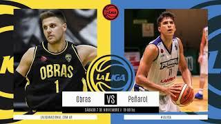 #LNB - Obras Basket 84-71 Peñarol (7/11/2020)