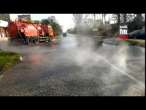 Kerch.FM: Порыв теплотрассы на Сморжевского в Керчи