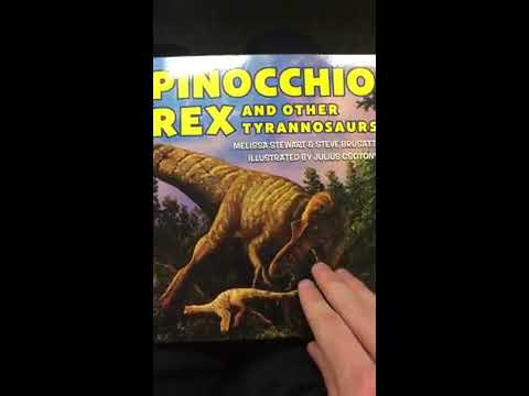 PINOCCHIO REX! Did You Know That Was a Thing?