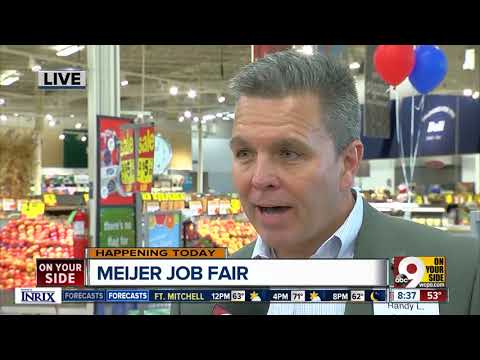 Meijer hosts Greater Cincinnati job fair to fill 400 jobs