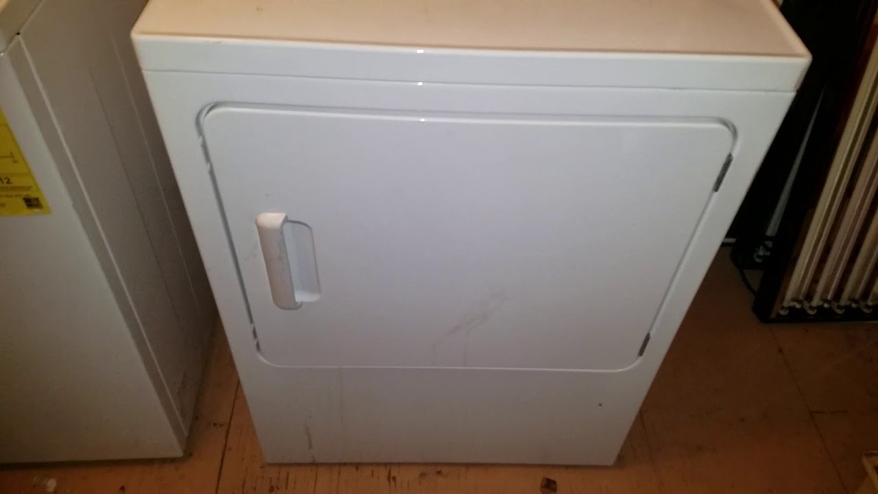 Ge Electric Clothes Dryer Drum Not Spinning Making A Humming Noise How To Fixed Easy Repair