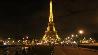 Driving in Paris France at night dashcam 4k thumbnail