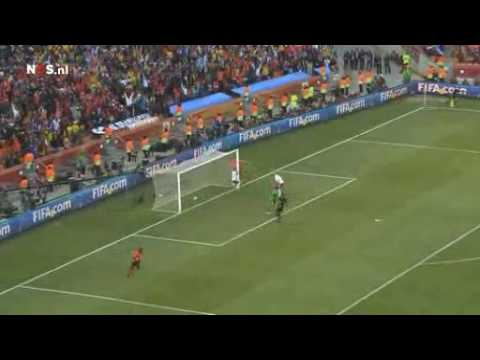 Goal Dirk Kuyt HOLLAND v DENMARK Jack van Gelder CRAZY DUTCH RADIO COMMENTATOR