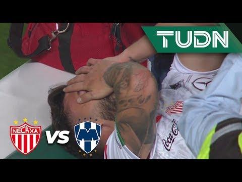 ¡Lágrimas de dolor por lesión!   Necaxa 0 - 0 Rayados   Liga Mx - Ap 2919 - Semifinal   TUDN