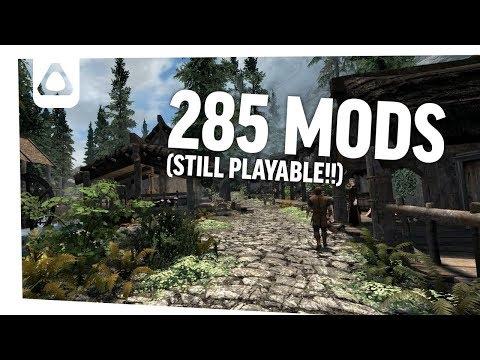 285 Visual Mods in Skyrim VR (GTX 1080)