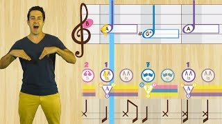 Music Teacher Resources: PsP Melodies #25 -  Solfege Lessons From The Prodigies Music Curriculum