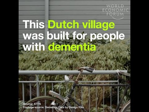 This Dutch village was built for people with dementia