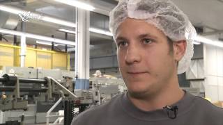 Blickpunkt Industrie: Offset Druckerei