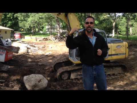 How to Remove a Swimming Pool  Wayzata MN
