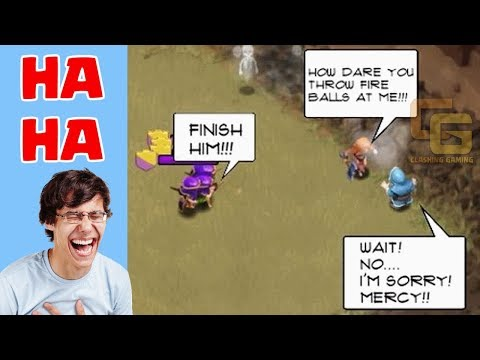 Clash of Clans Funny Moments Trolls Compilation #7 | COC Montage