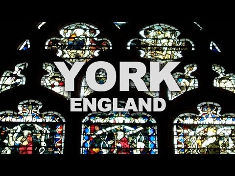 City of York in England