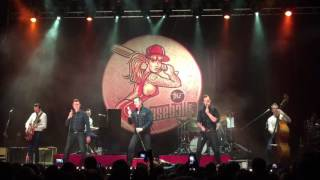The Baseballs - The Sign (Ace of Base cover) (live in Moscow)