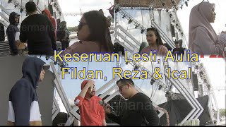 Keseruan Lesti, Aulia, Reza, Fildan & Ical  Semarak Indosiar 2019