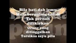 Bila Cinta Di Dusta - Screen ~ Lirik~