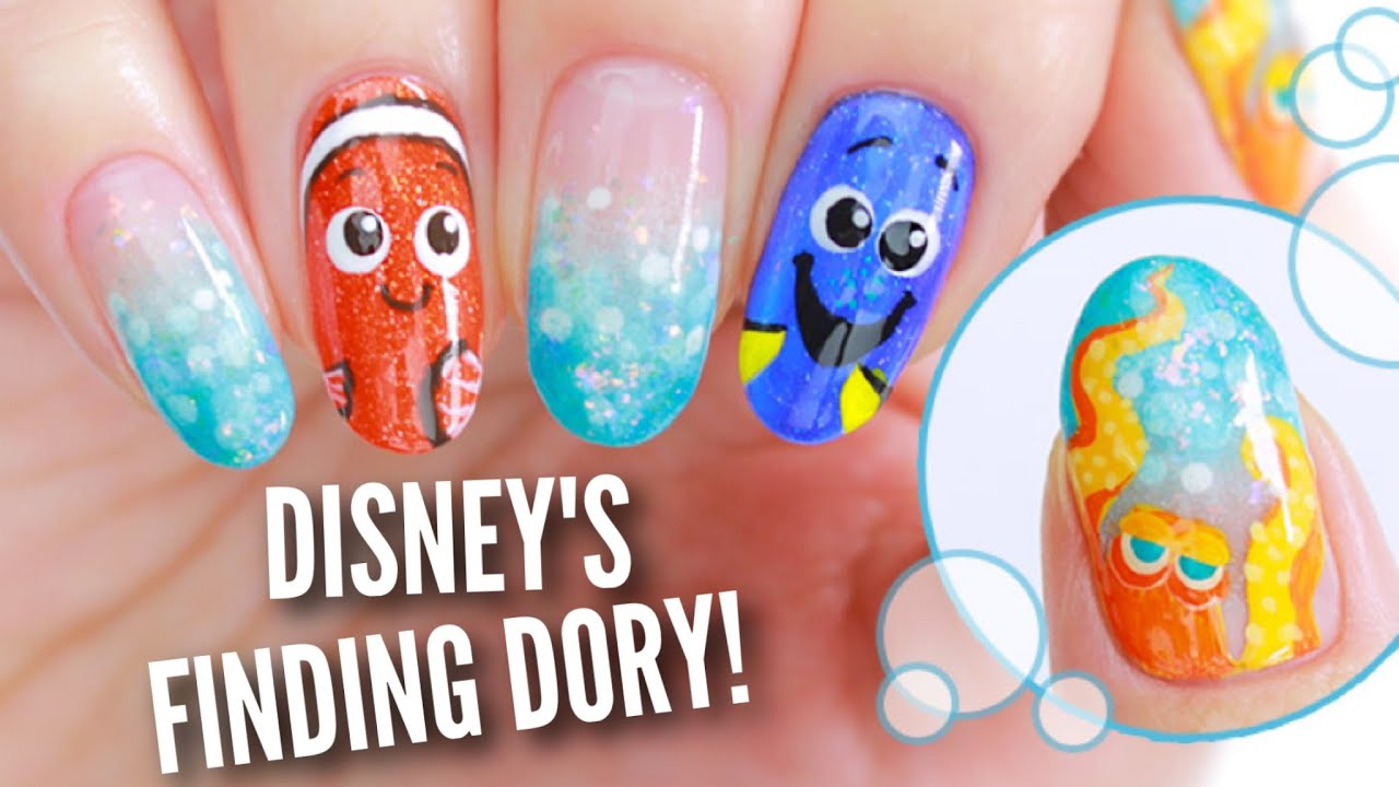 Disneys finding dory nails youtube prinsesfo Gallery