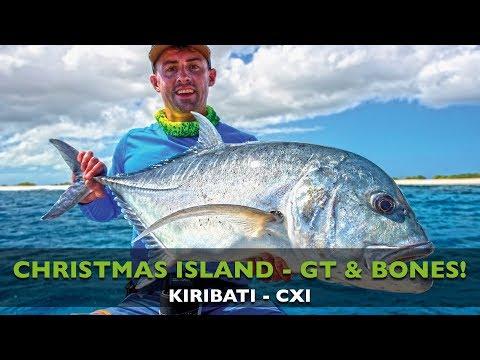 KIRIBATI - GIANT TREVALLY - BONEFISH - POPPING - FLY FISHING - CHRISTMAS ISLAND
