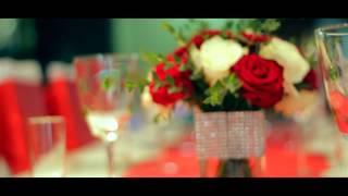 Оформление свадьбы в красном цвете от студии дизайна Reverie Decor
