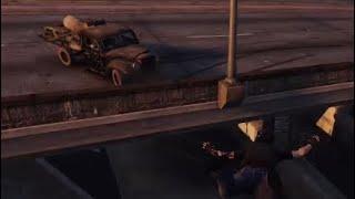 GTA Online: Funny Moments [Bike jump escape]