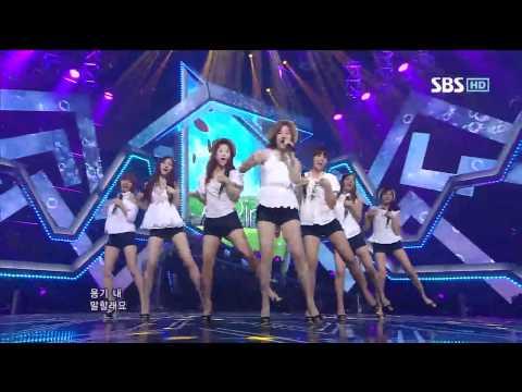 A pink [BUBIBU] @SBS Inkigayo 인기가요 20120513