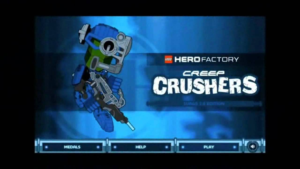 Lego Hero Factory Online Games Youtube