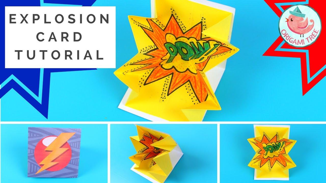 Explosion Card Tutorial