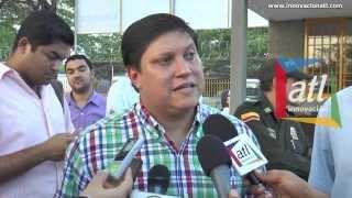Luis galvis Gerente del Terminal Inauguración del Parqueadero Municipal