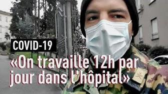 Coronavirus: Charles, militaire au chevet des patients