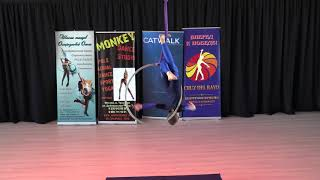 Коломайнен Максимилиан, 11 лет - Catwalk Dance Fest VIIl [pole dance, aerial] 14.05.17.