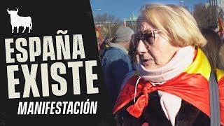 MANIFESTACIÓN ESPAÑA EXISTE