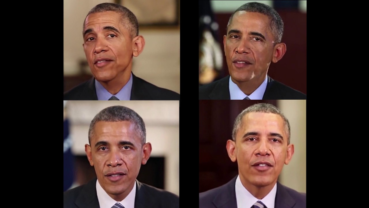 Deepfakes maps a face onto someone else's head in full-motion video
