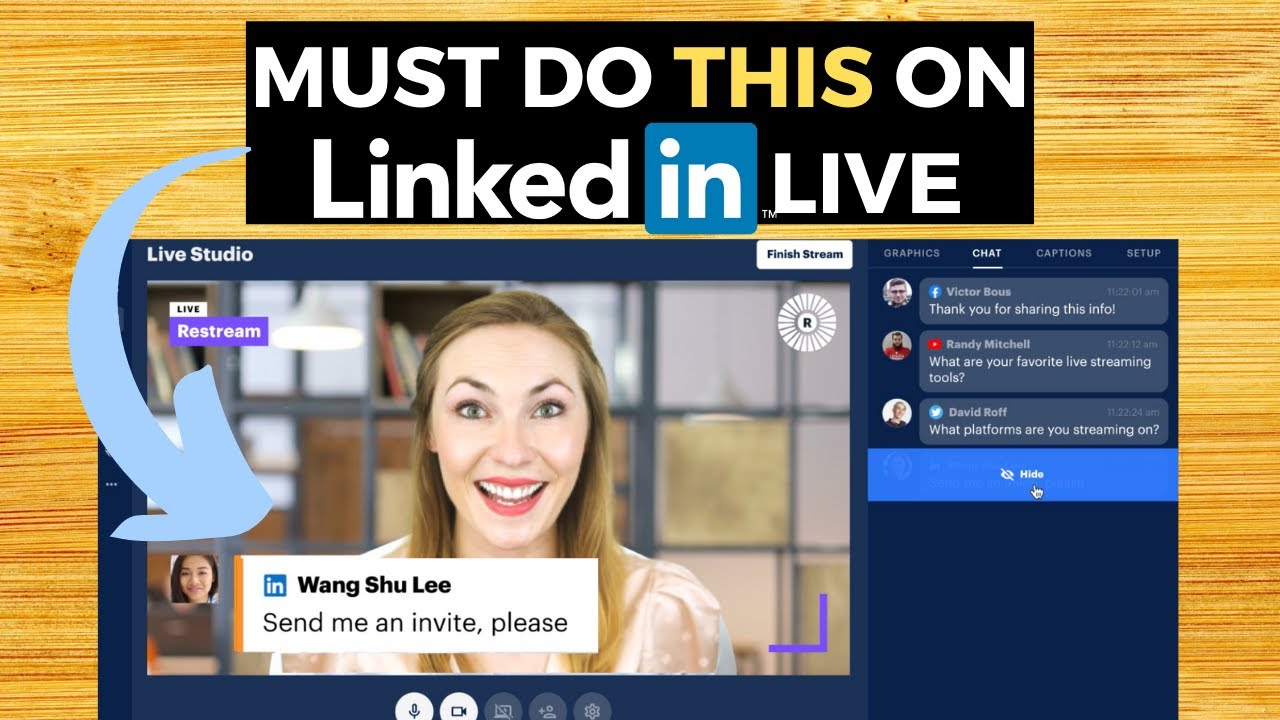 How to Have 1000s Attend Your Linkedin LIVE Video ft. Restream (We had 16k Views When We Did This!)