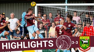Extended Highlights: Taunton Town 3-3 Hendon
