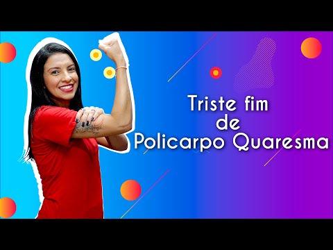 TRISTE FIM DE POLICARPO QUARESMA DE LIMA BARRETO - RESENHA DO LIVROиз YouTube · Длительность: 22 мин21 с