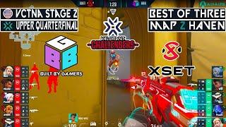 WINNER TO UPPER SEMIḞINAL BBG vs XSET   MAP 2 HAVEN   VCTNA STAGE 2   VODS VALORANT MUNDI