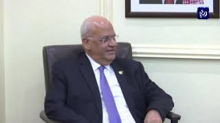 الأردن وفلسطين يرفضان أي أفكار اقتصادية بديلة عن حل الدولتين (6-7-2019)