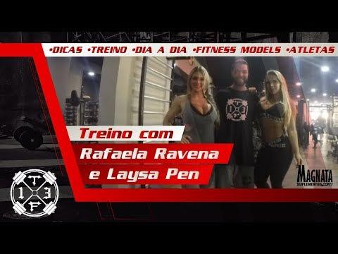 Treino de PERNAS - LAYSA e RAFA RAVENA thumbnail