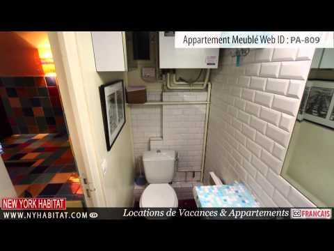 Visite vidéo d'un appartement T4 meublé du quartier de la Madeleine à Paris
