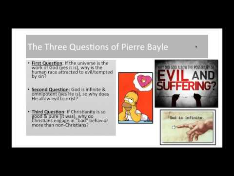 Pierre Bayle Lecture 2