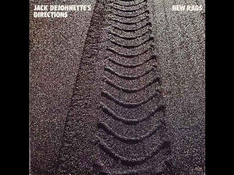 """Jack Dejohnette's Directions """"New Rags"""" LP 1977"""