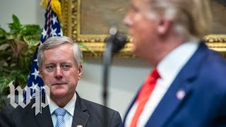 Mark Meadows is Trump's new chief of staff. Here's what you need to know.