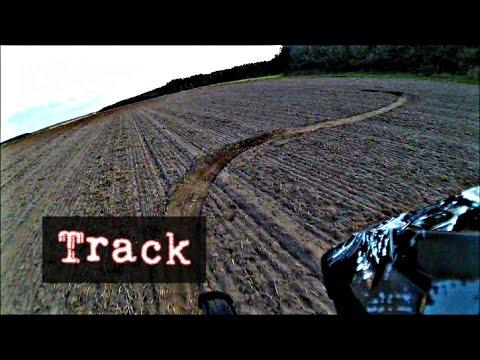 DERBI SENDA - Hand made Track - Field - Fun - Onboard