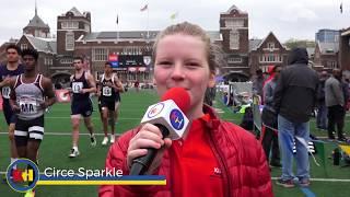 #PennRelays #MeetTheBroadcaster - Circe Sparkle