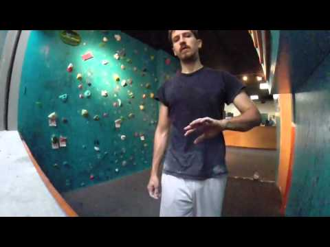 V0 - V2 bouldering at Volcanic Climbing and Fitness in Honolulu