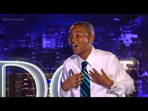 American Idol - David  Leathers - Audition 1 - Remember The Rain