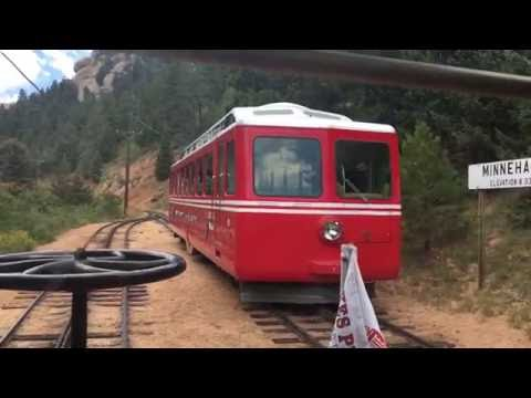 Riding Pikes Peak Cog Railway Including Shops and Ride in Classic Car