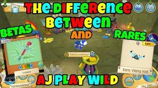 OLD) Freedom Wings Animal Jam Play Wild, beta Freedom Set