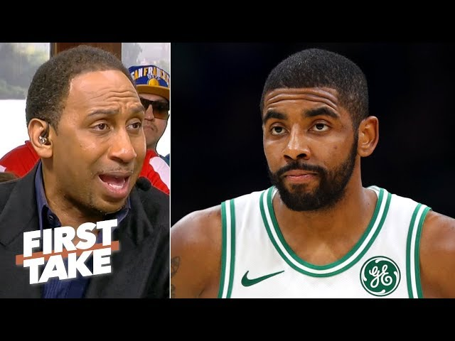 Kyrie is leaving the Celtics since hes being labeled a disruptive force - Stephen A. | First Take