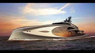 Andy Waugh designs Nouveau superyacht concept