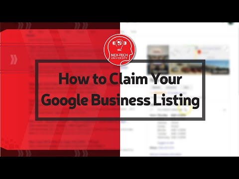 How to Claim Your Google Business Listing thumbnail