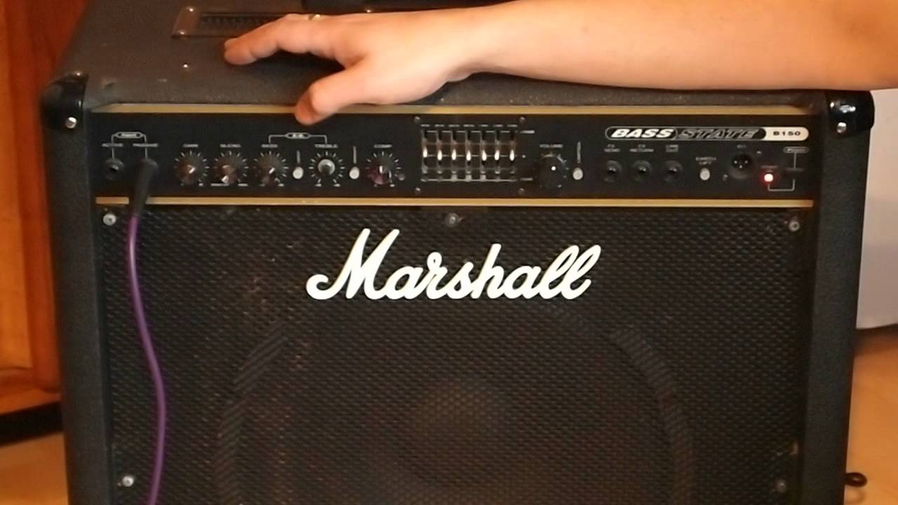 marshall bass state b150 bass amp youtube. Black Bedroom Furniture Sets. Home Design Ideas